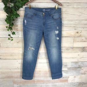 New York And Company Soho Curvy Boyfriend Jeans 12